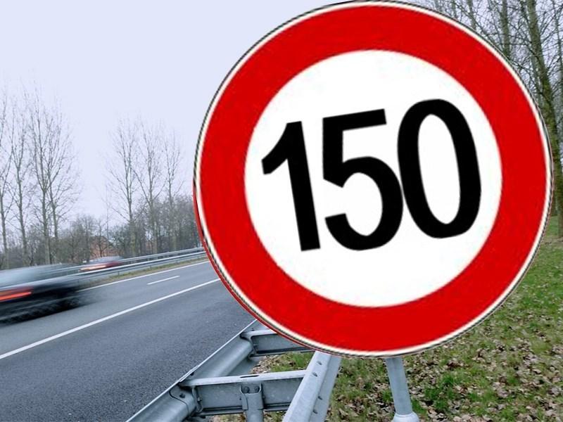 Скоростной лимит на платных трассах хотят увеличить до 150 км/ч
