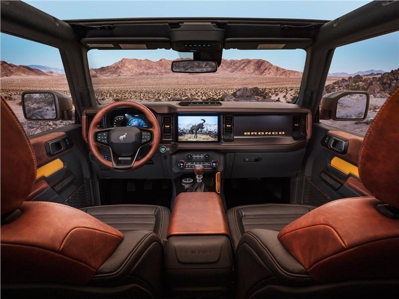 Ford Bronco 2-door (2021) салон