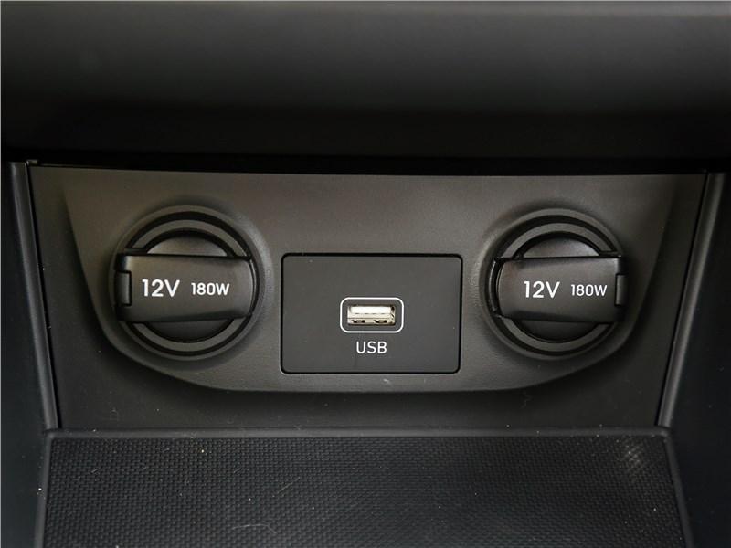 Hyundai Creta 2020 розетки