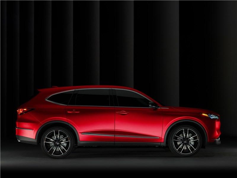 Acura MDX Concept (2020) вид сбоку