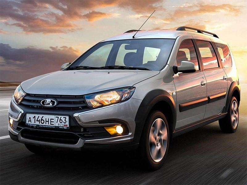 Обновлённую модель Lada Largus в этом году можно не ждать