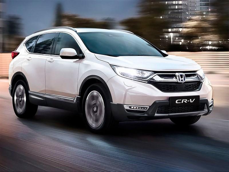Новая Honda CR-V изменила сама себе