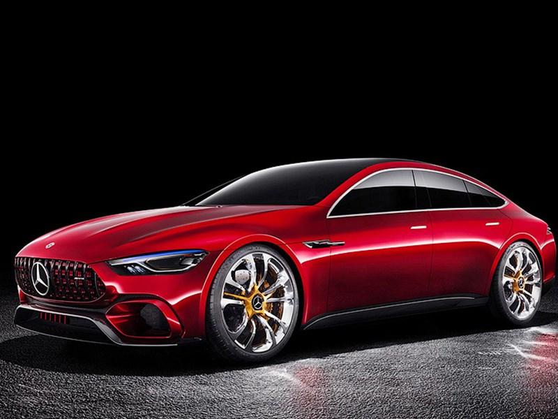 У Mercedes-AMG появится 805-сильный гибрид