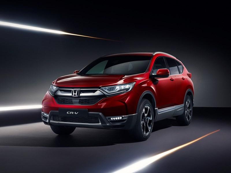 Европейская Honda CR-V: семь мест и гибридная версия