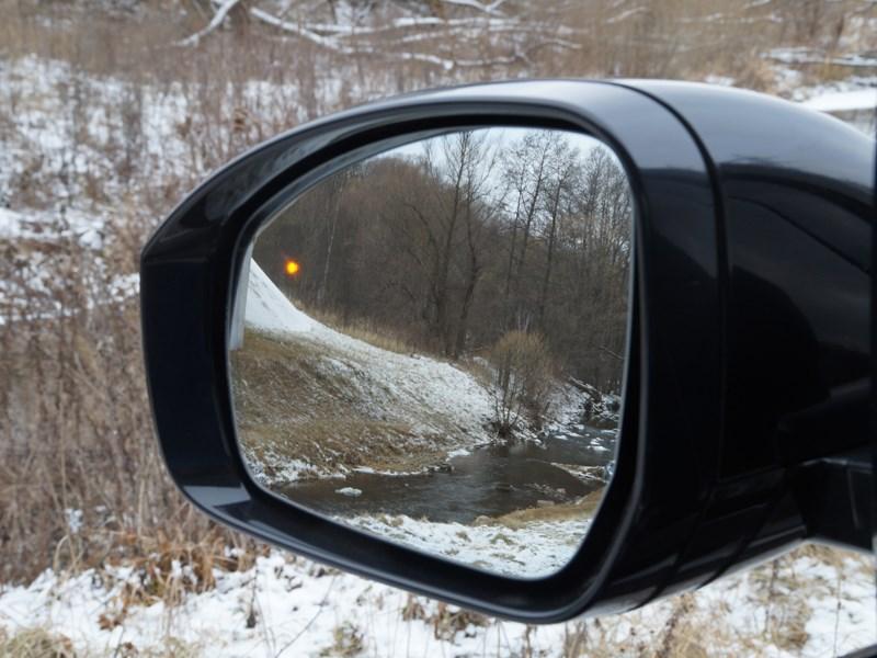 Range Rover LWB 2014 боковое зеркало