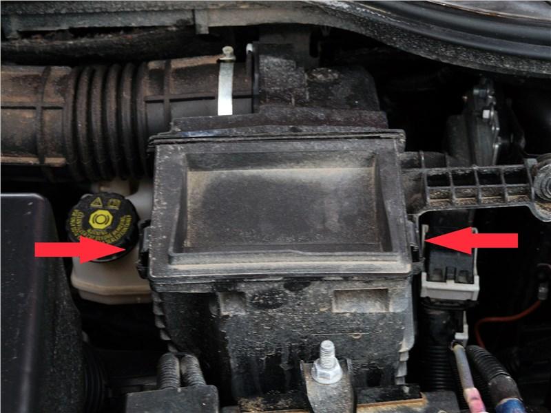 Lada Vesta 2015 воздушный фильтр