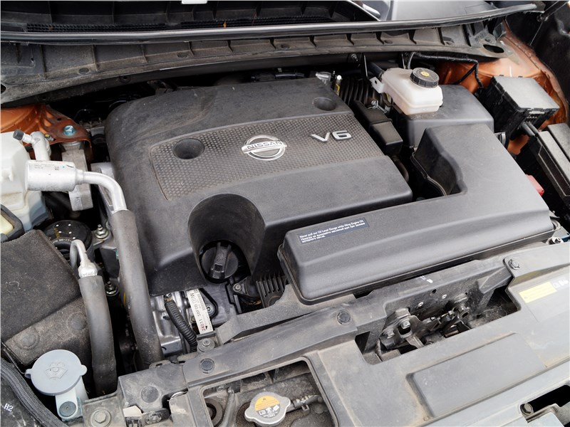 Nissan Murano 2016 двигатель
