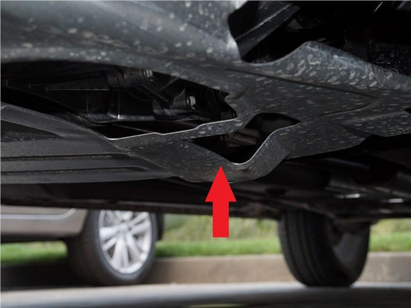 Lada Granta 2019 защита моторного отсека