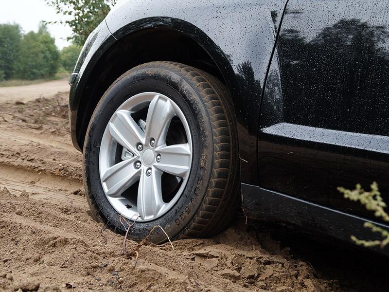 Geely Emgrand X7 2014 переднее колесо