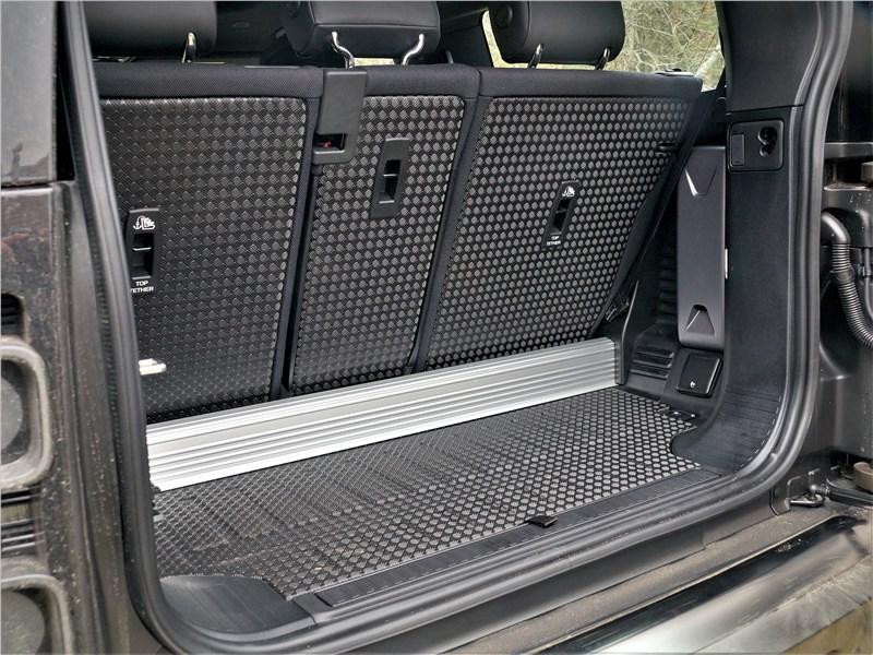 Land Rover Defender 90 (2020) багажное отделение
