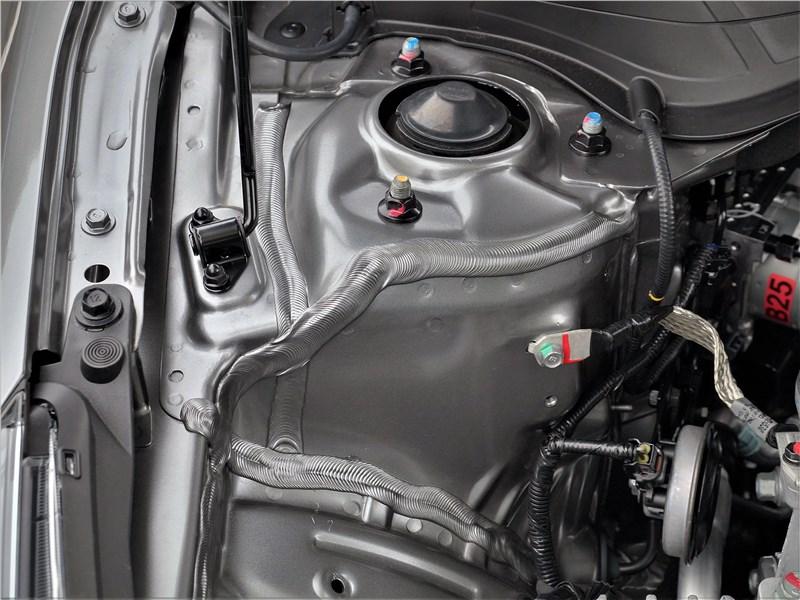 Kia Cerato (2022) моторный отсек