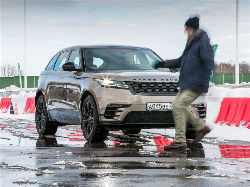 Range Rover Velar 2017 на полигоне