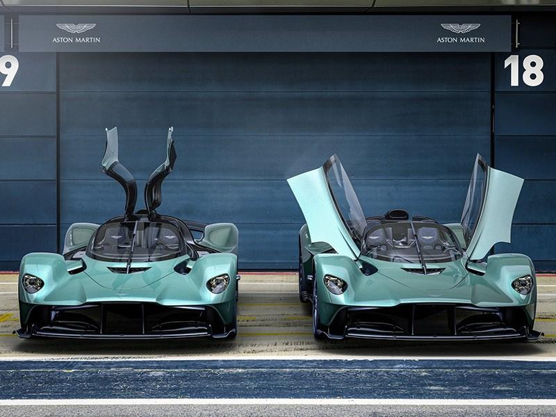 Представлен самый быстрый родстер Aston Martin