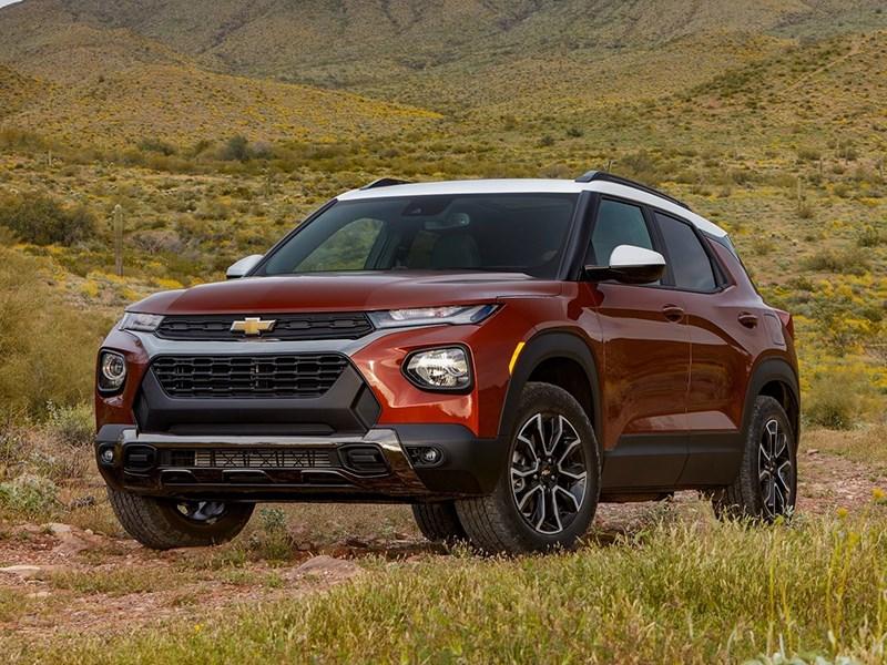 В России запустились продажи нового Chevrolet Trailblazer