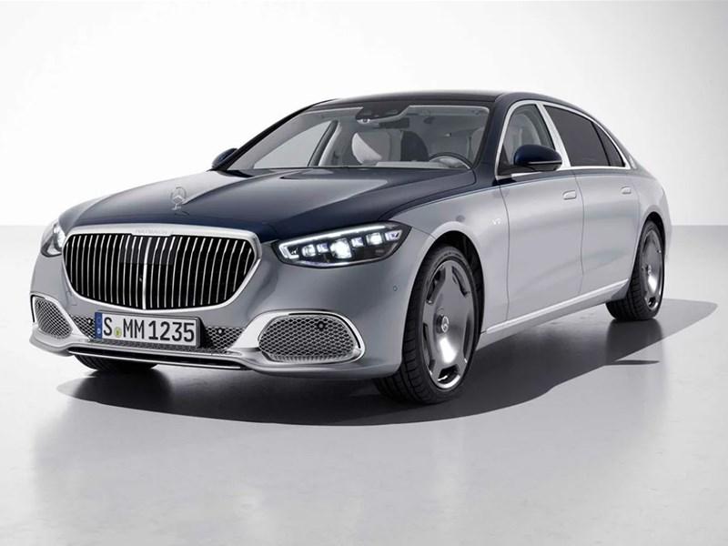 Mercedes выпустил особый Maybach к юбилею бренда