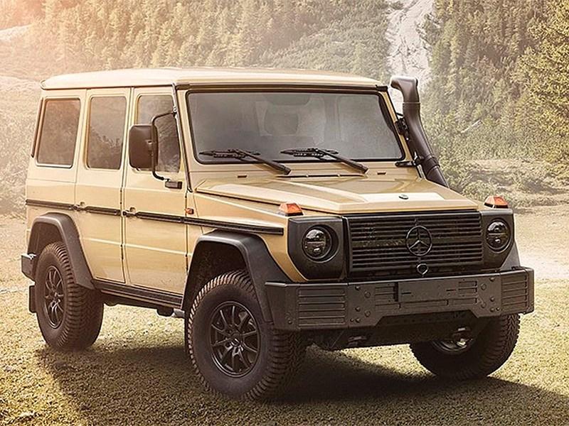 Mercedes-Benz разрабатывает армейский «Гелик»