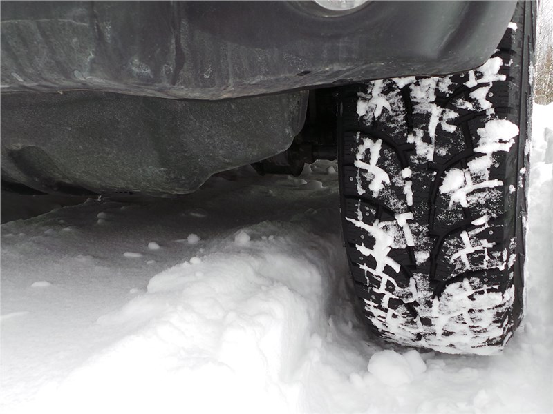 Jeep Wrangler 2007 колесо