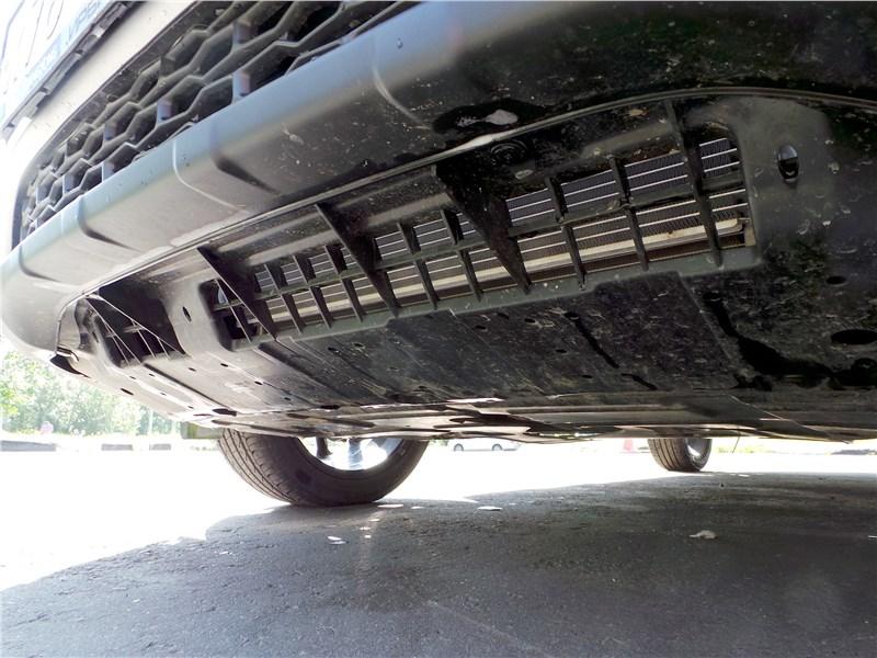 SsangYong XLV 2017 защита моторного отсека