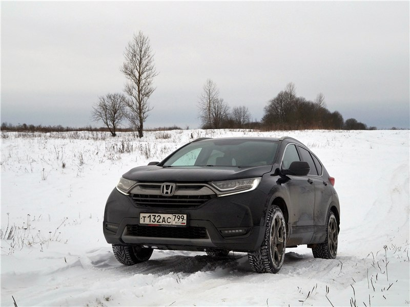 Honda CR-V 2017 вид спереди