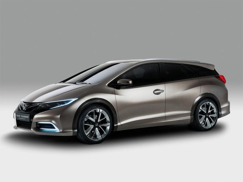 Honda разрабатывает скоростную версию универсала Civic Tourer