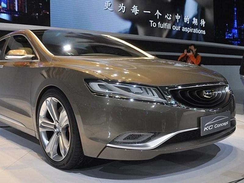 Китайская компания Geely разрабатывает премиальный седан