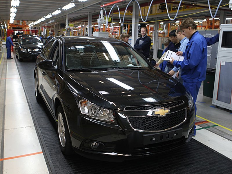 Российский завод General Motors возобновил работу после летних каникул