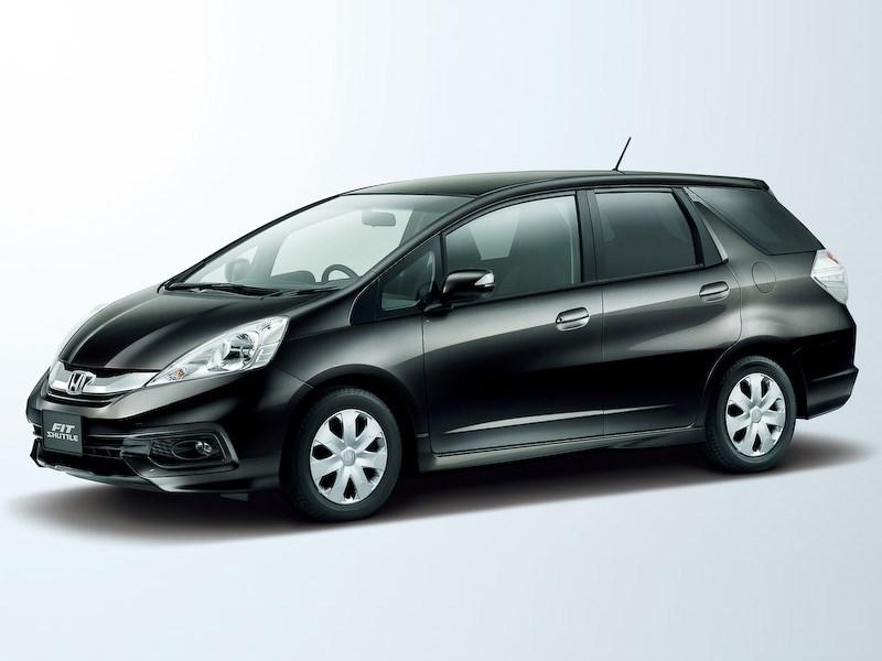 Honda представила рестайлинговый Fit Shuttle