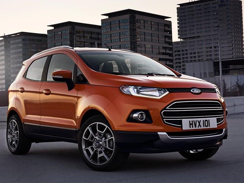 Ford EcoSport выходит на европейский рынок