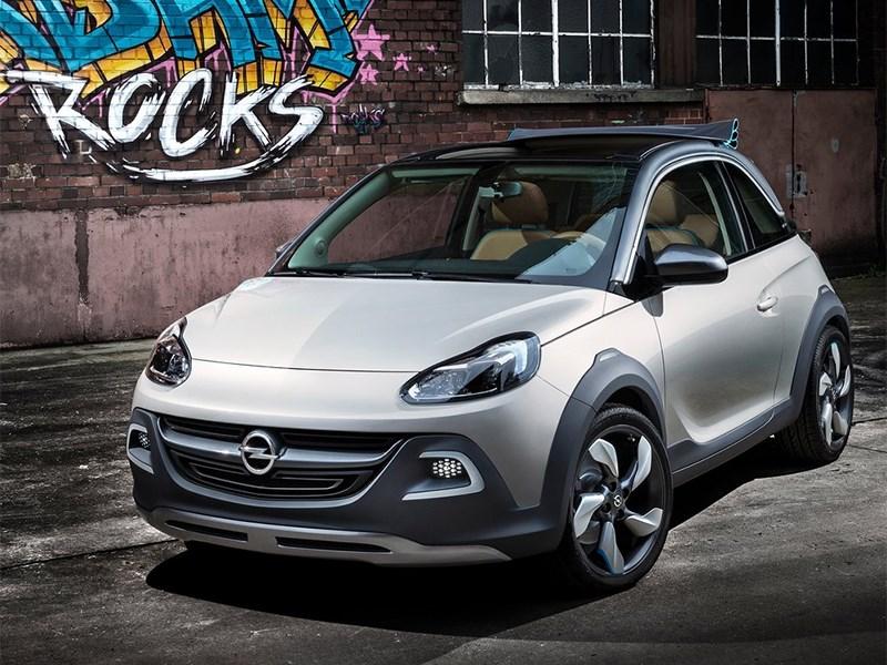 Opel в конце 2014 года представит городской кроссовер на базе канцепта Adam Rocks