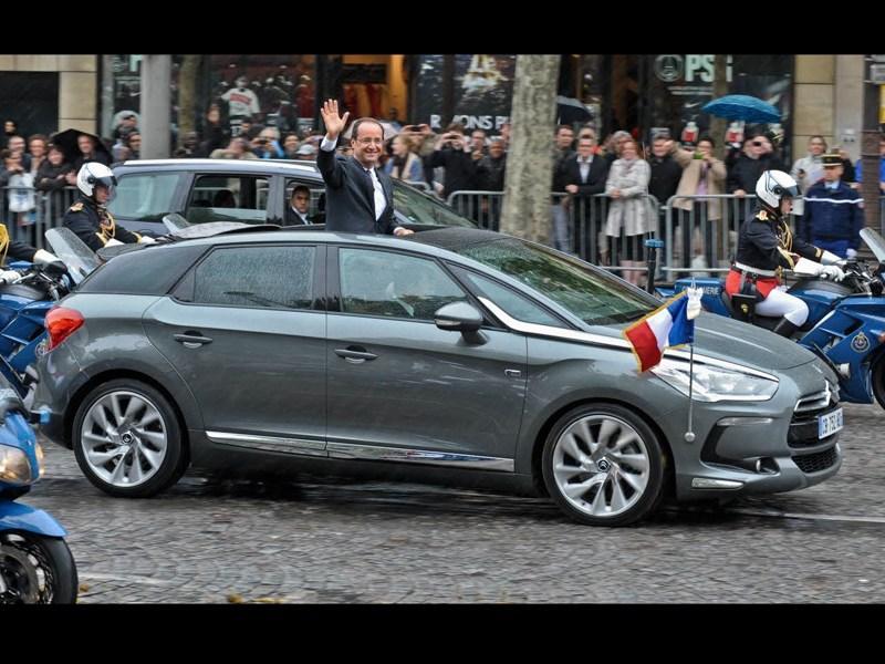 Президентский Citroen покажут на ММАС-2012