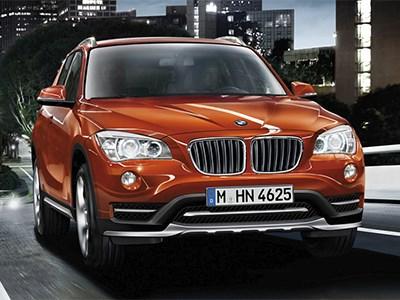 Кроссовер BMW X1 получит обновленную версию