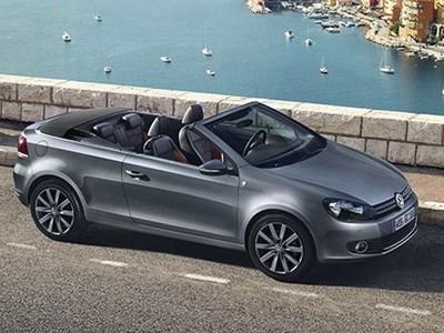 Volkswagen представил новый эксклюзивный кабриолет Golf Karmann