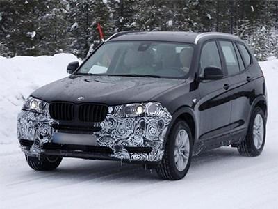 Обновленный кроссовер BMW X3 появится на рынке в июне