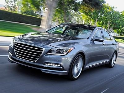 На российский рынок выйдет седан Hyundai Genesis второго поколения