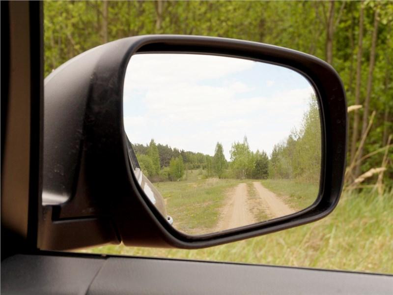 Renault Koleos 2014 боковое зеркало