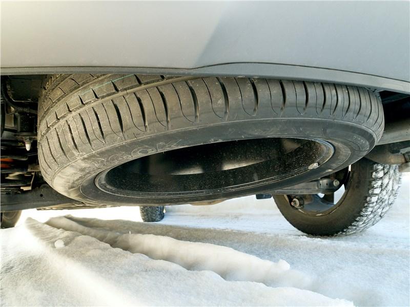 Hyundai Santa Fe 2015 запасное колесо
