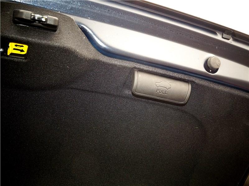 Kia Cerato 2016 багажник