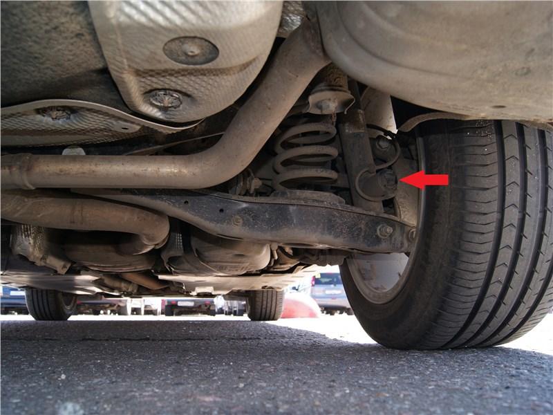 Volkswagen Passat Alltrack 2016 задняя подвеска