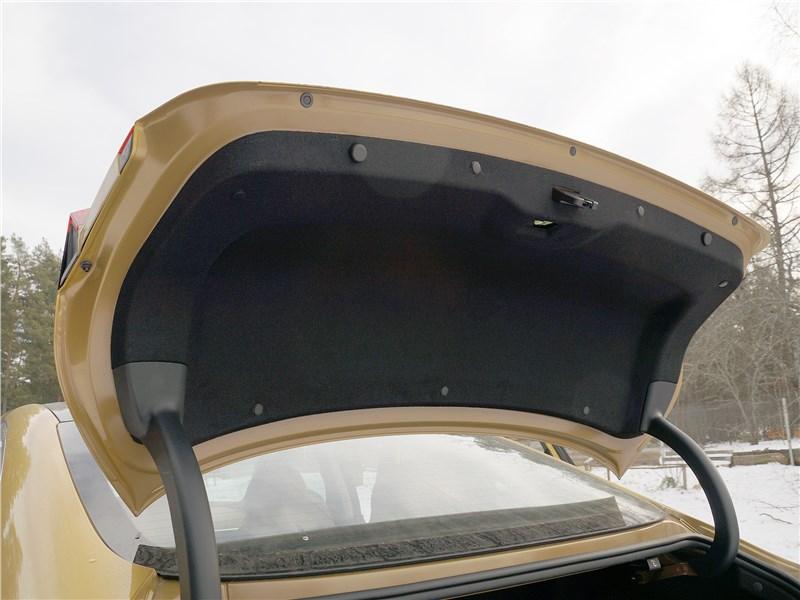 Hyundai Sonata 2020 крышка багажника
