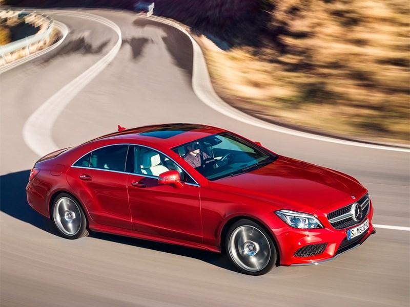 Mercedes-Benz CLS-Klasse 2015 вид сверху