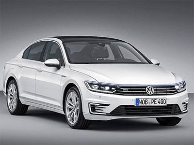 Volkswagen рассекретил свой новый гибридный Passat GTE
