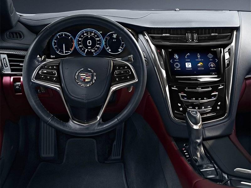 Cadillac CTS 2014 водительское место