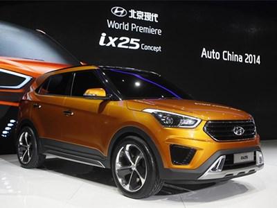 Hyundai выводит на европейский рынок свой компактный кроссовер ix25
