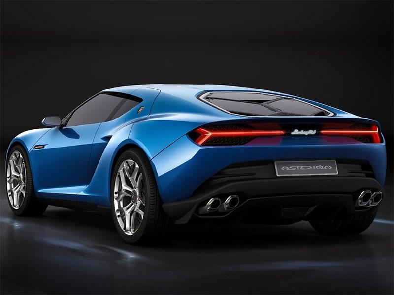 Lamborghini Asterion LPI 910-4 concept 2014 вид сбоку сзади