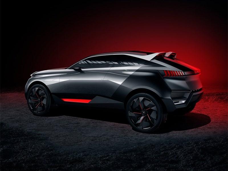 Peugeot Quartz Concept 2014 вид сбоку