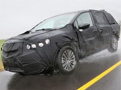 Acura готовит свой первый минивэн