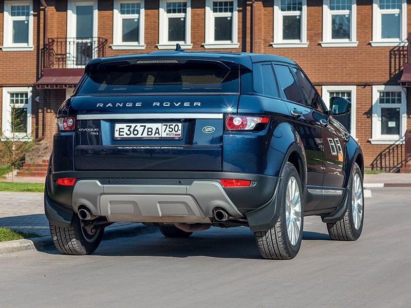 Land Rover Range Rover Evoque 5-door 2013 вид сзади