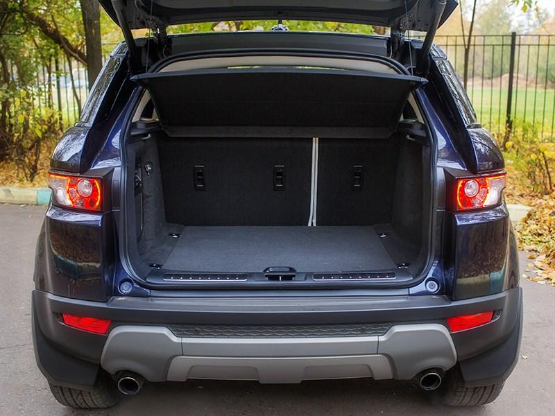 Land Rover Range Rover Evoque 5-door 2013 багажное отделение