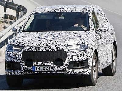 Новое поколение гибридного кроссовера Audi Q7 появится уже в будущем году