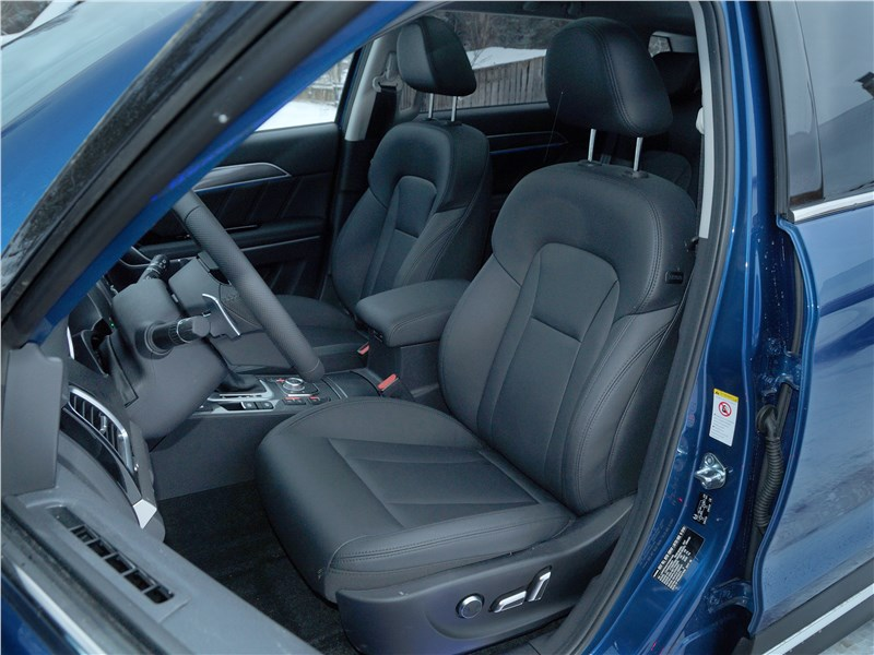 Haval H6 Coupe 2017 передние кресла